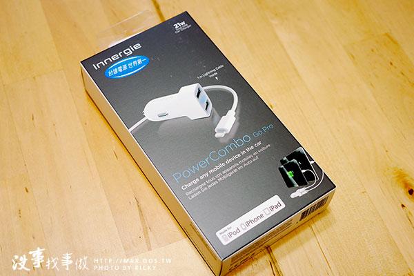 台達電 Innergie 21瓦雙USB 2.1A輸出快速車充組