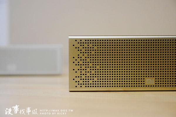 開箱評測-小米藍牙音箱