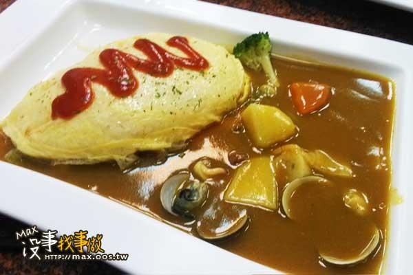 高雄小港-歐麥咖59元日式咖哩飯
