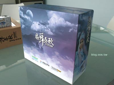 包裝設計-霹靂Q版公仔5之【扇舞春秋】
