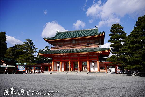 日本京都-日本最大鳥居-平安神宮